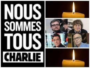 Deuil National en hommage à l'attentat perprétré à la rédaction du journal Charlie Hebdo