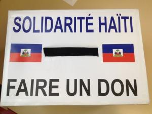 Haïti : Collecte de dons