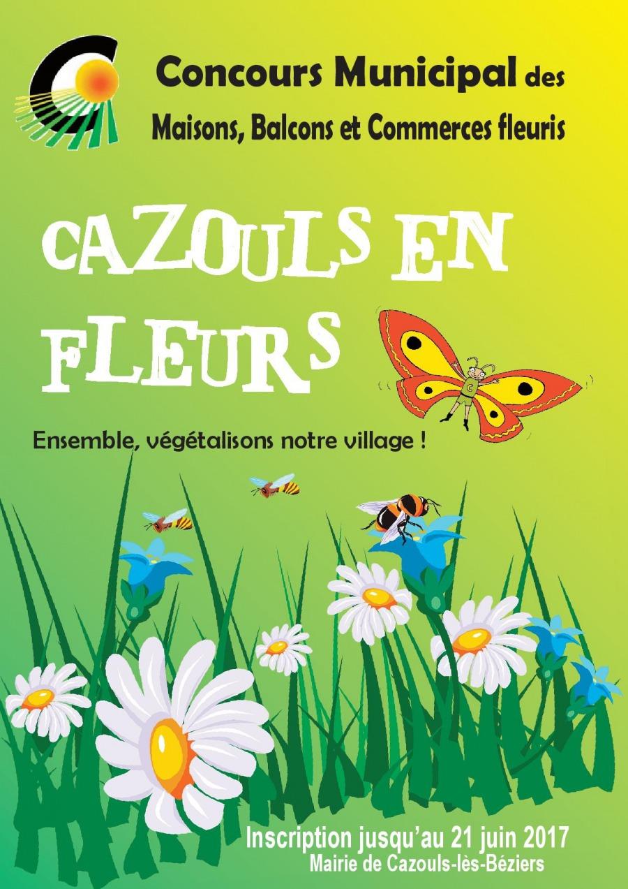 Concours Cazouls en Fleurs
