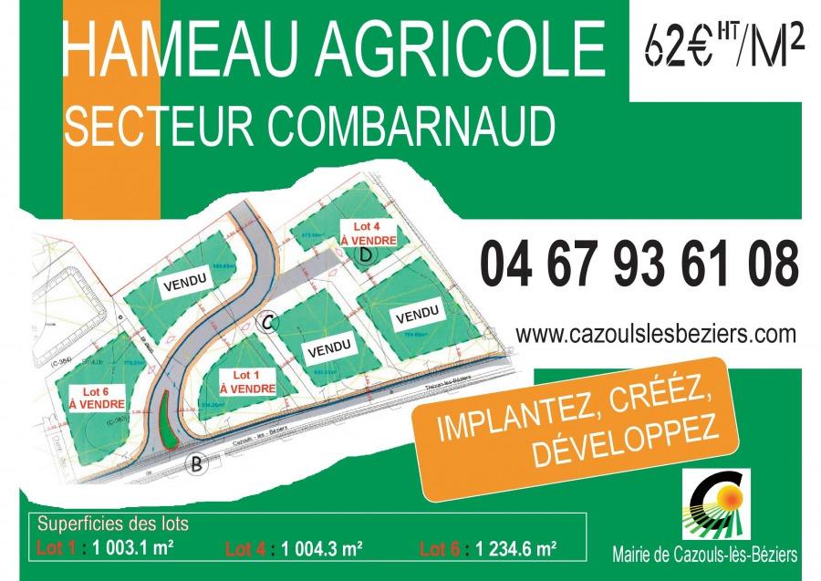 Hameau Agricole : Derniers lots à saisir !