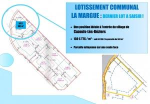 Lotissement Communal La Margue : Dernier lot à saisir !