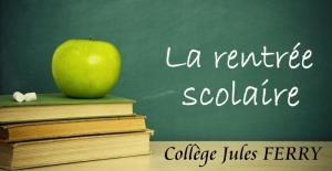 Collège Jules Ferry - rentrée scolaire