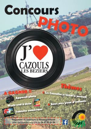 Concours photo : J'aime Cazouls