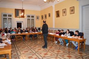 Conseil Municipal des Jeunes - Élection Maire