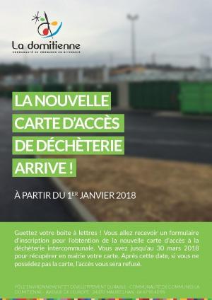 Communauté de Communes La Domitienne - Déchèterie