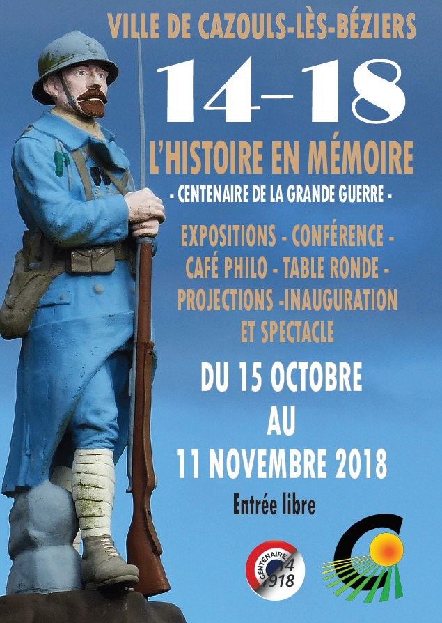 CENTENAIRE DE LA GRANDE GUERRE : L'HISTOIRE EN MÉMOIRE
