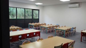 Extension cantine à l'école maternelle P. Kergomard et création salle de spectacle à la Médiathèque