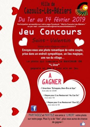 Jeu concours / Saint Valentin 2019
