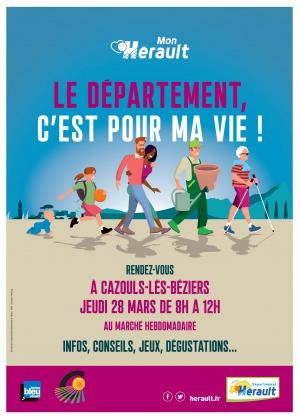 Tournée #monhérault le Département, c'est pour la vie