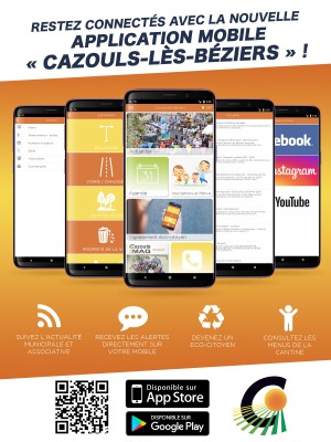 Application mobile Cazouls !