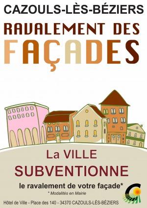 Opération façade : Cazouls-lès-Béziers prend des couleurs
