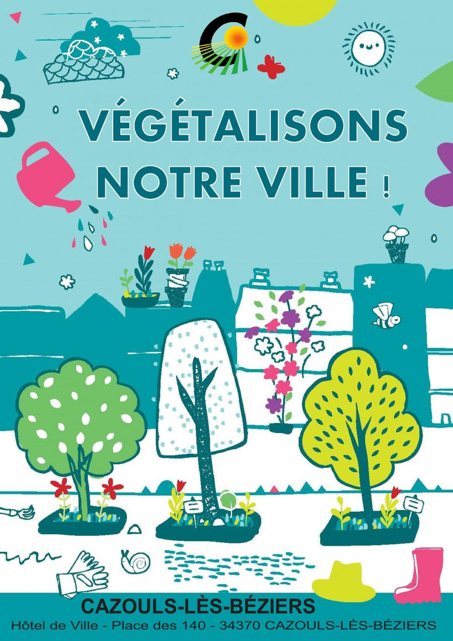 Végétalisons notre Ville : c'est parti !