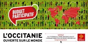 """Budget participatif : """"L'Occitanie ouverte sur le monde"""""""