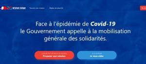 Lancement de la plateforme de mobilisation citoyenne « Je veux aider – Réserve civique Covid-19 »