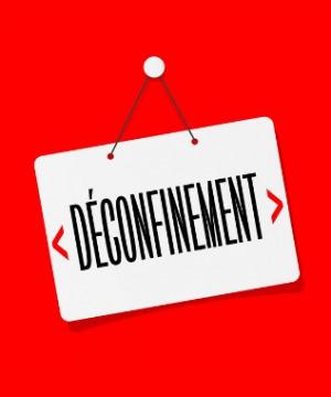 Déconfinement : Réouverture des services