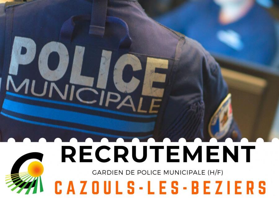 Offre d'emploi - Police Municipale