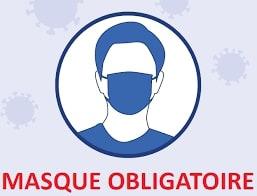 Port du masque obligatoire - Arrêté préfectoral