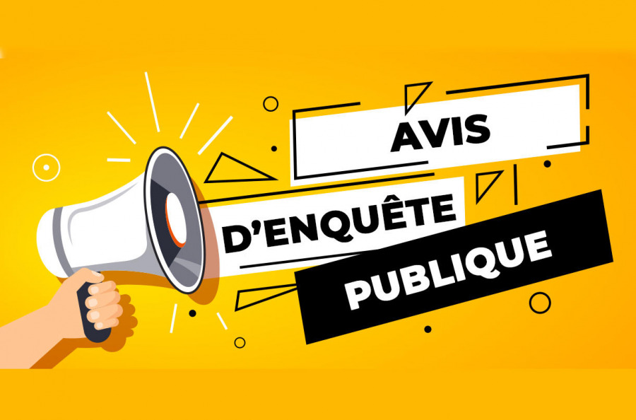 Avis d'enquête publique portant sur la modification n°3 du Plan Local d'Urbanisme