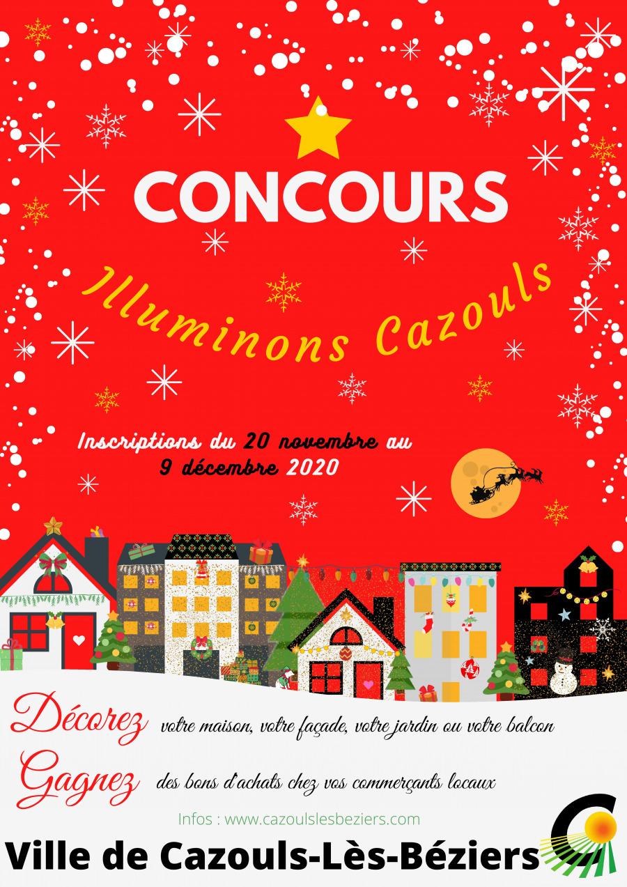 "Résultats concours ""Illuminons Cazouls 2020"""