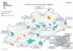 COVID-19 / Centres de vaccination