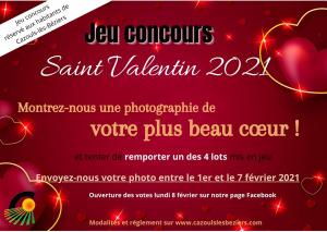 Jeu Concours - Saint Valentin 2021