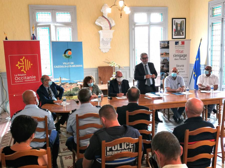 """Signature de la convention d'adhésion """"Petites Villes de demain"""""""