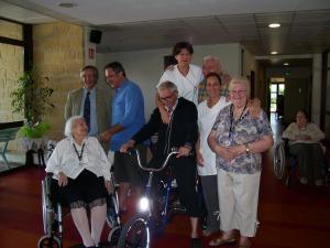 Un événement à la Maison de Retraite Simone de Beauvoir : l'arrivée du tricylcle !