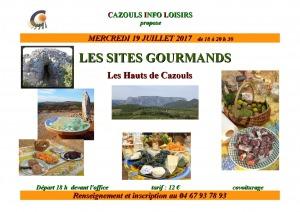 Les sites gourmands - Cazouls Info Loisirs