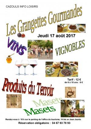 Les Grangettes Gourmandes - Cazouls Info Loisirs