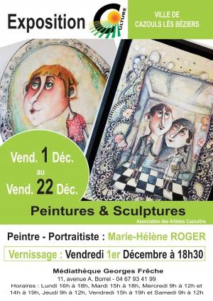 Exposition - Marie-Hélène ROGER