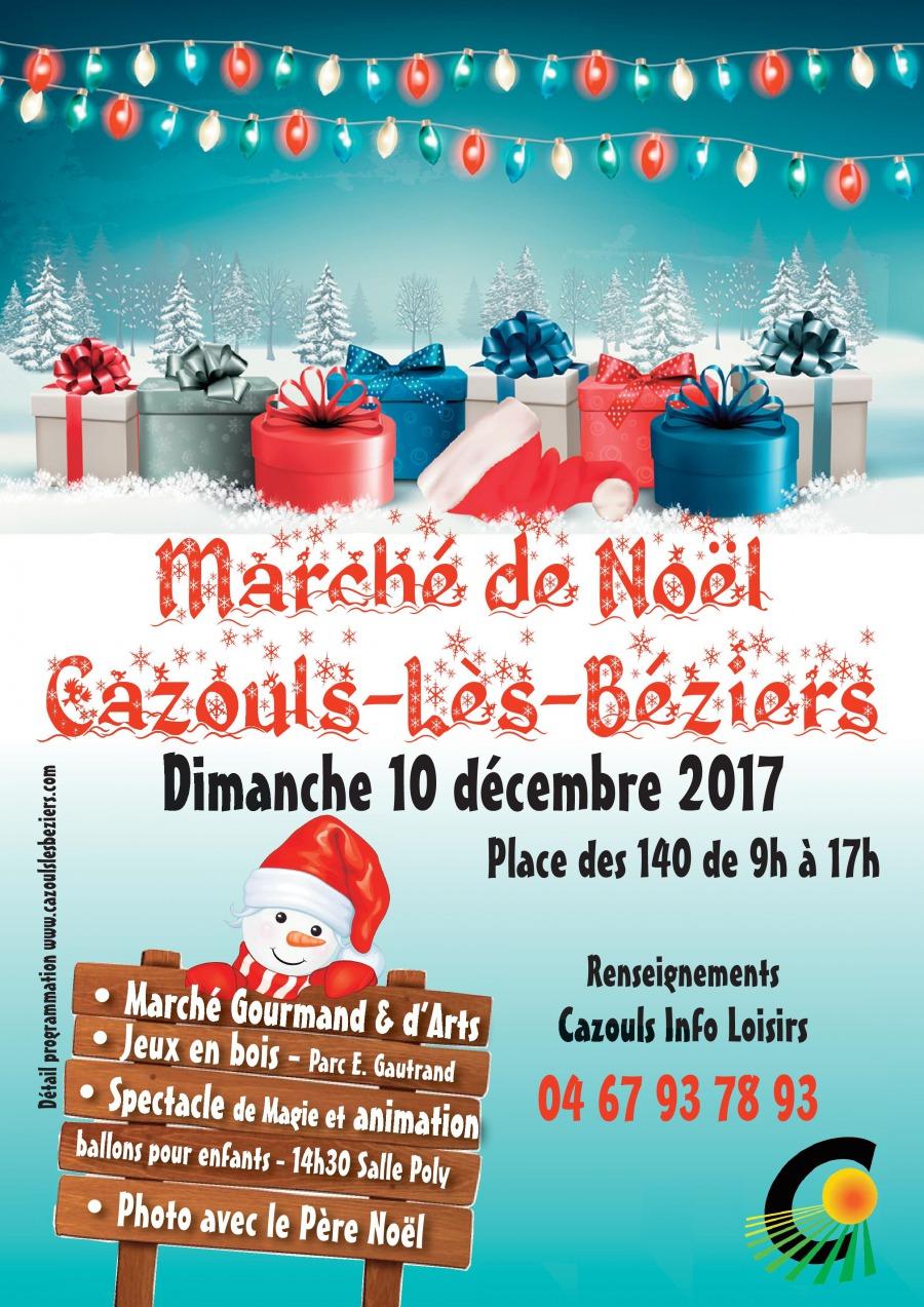 marche noel 2018 beziers Evènements à venir   Marché de Noêl   Cazouls lès Béziers marche noel 2018 beziers