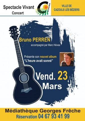 Concert de Bruno PERREN