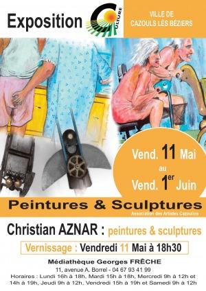 Exposition de M. Christian Aznar