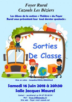 """Spectacle """"Atelier théâtre enfants"""" du Foyer Rural"""