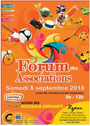 Forum des associations et accueil des nouveaux arrivants
