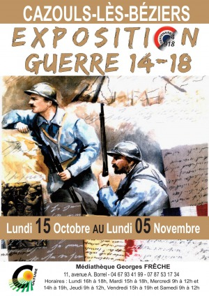Exposition - Guerre 14-18