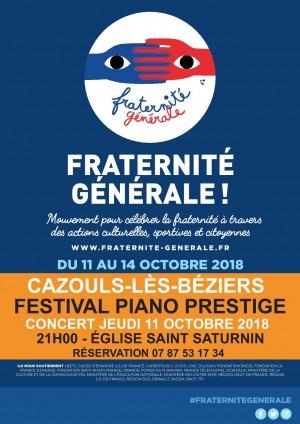 Fraternité Générale - Festival Piano Prestige