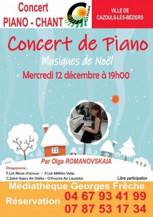 Spectacle de Noël - Piano & Chant
