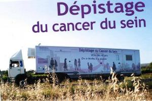 Mammobile -Dépistage du cancer du sein