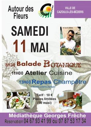 Balade botanique - Atelier Cuisine