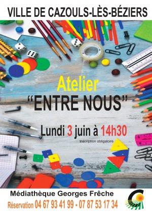 """Atelier adultes """"Entre Nous"""""""