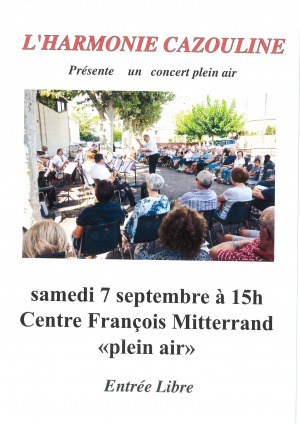 Harmonie Cazouline - Concert