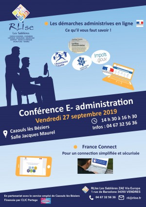 Conférence E-Administration