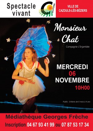 Spectacle Monsieur Chat