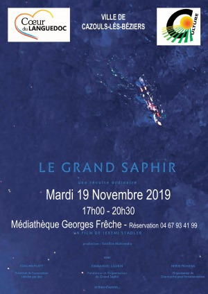 "Projection film documentaire ""Le Grand Saphir"""