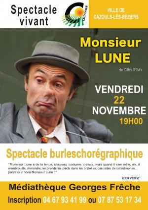 Spectacle Monsieur Lune