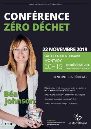 Conférence Zéro Déchet par Béa Jonhson