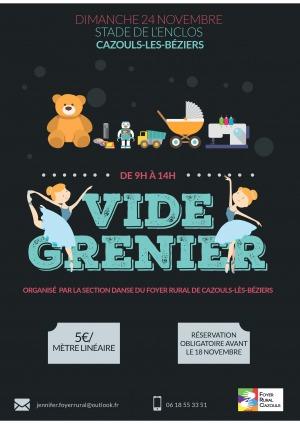 Vide Grenier - Foyer Rural