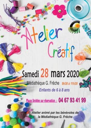 ANNULÉ - Atelier créatif enfants