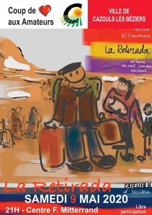 """Théâtre Spectacle sur le thème """"LA RETIRADA"""""""
